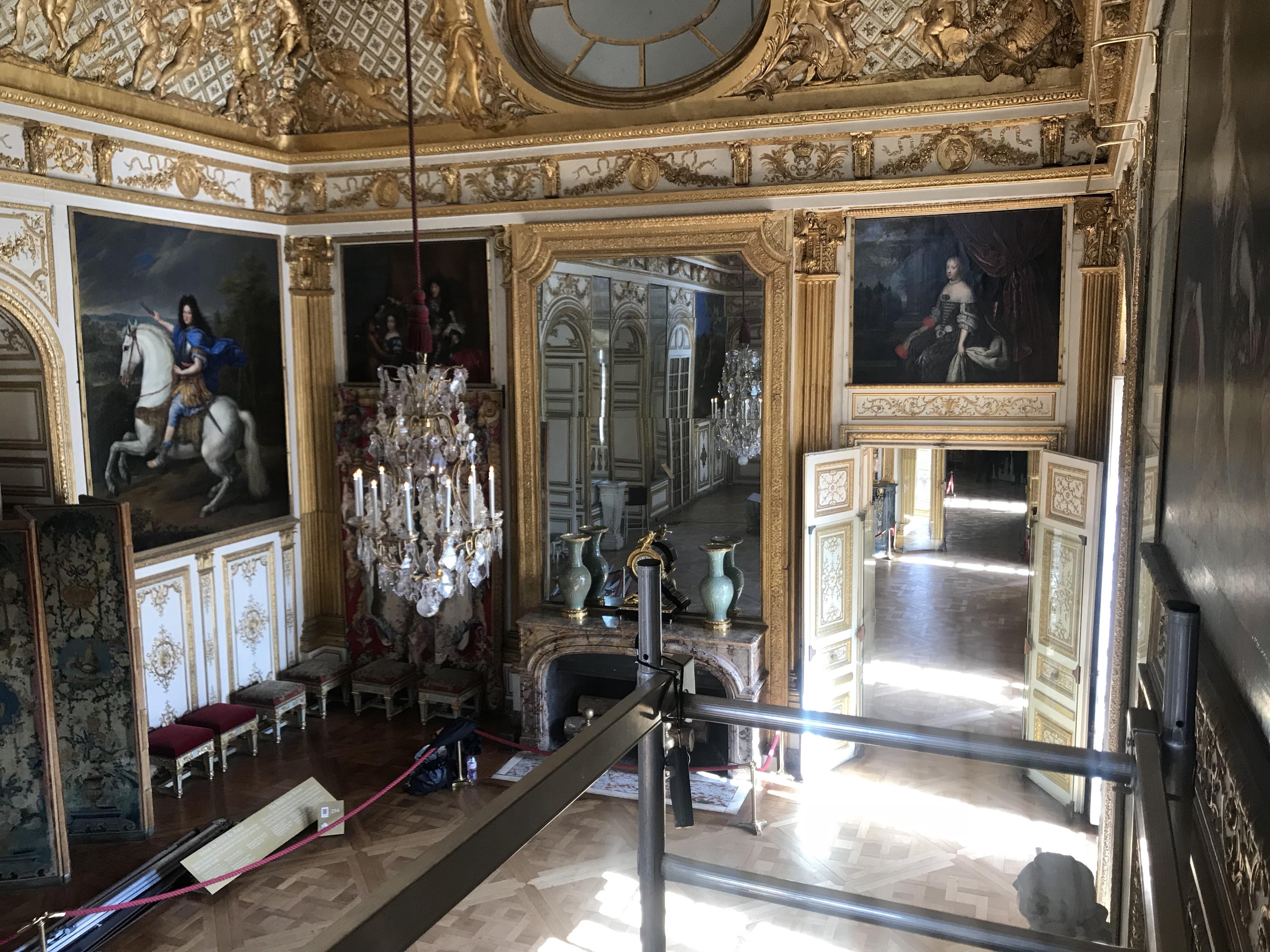 Salon de l'œil de boeuf - Château de versailles