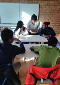 classe 4e collège Politze Bagnolet
