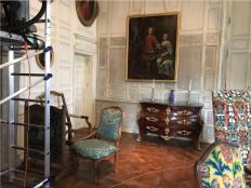 salon du château de Carrouges