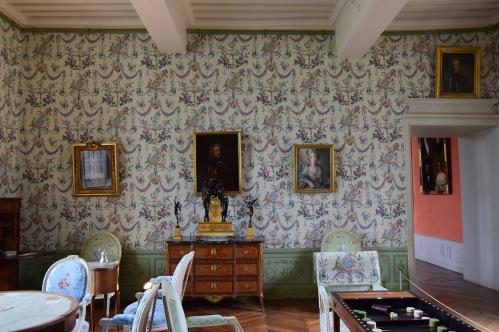 Salon d'été du château de Carrouges