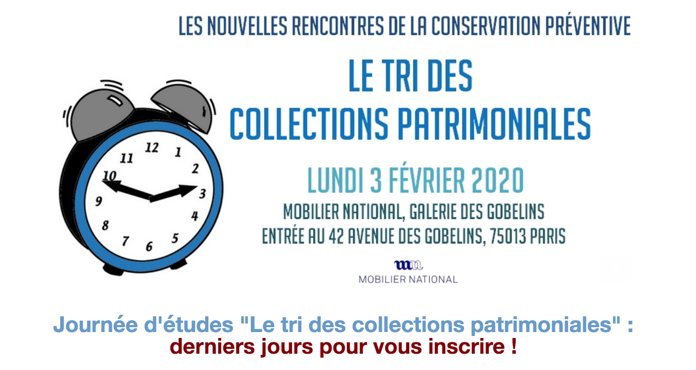 Le tri des collections patrimoniales